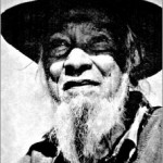 Guboo Ted Thomas, Australian Chief Elder of the Yuin Aboriginal Tribe