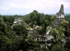 Tikal, Mexico Pyramid
