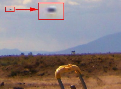 Unidentified Flying Object in the San Luis Valley of Colorado