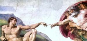 God Hand, Michaelangelo, The Big Picture, Spritual