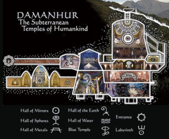 Damanhuir Subterranean Temples, PRF, Paranormal Research Forum