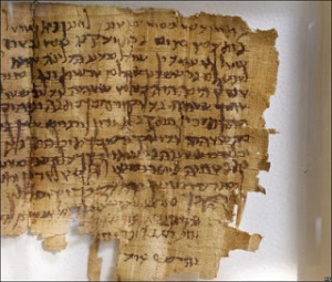 papyrus original bible text
