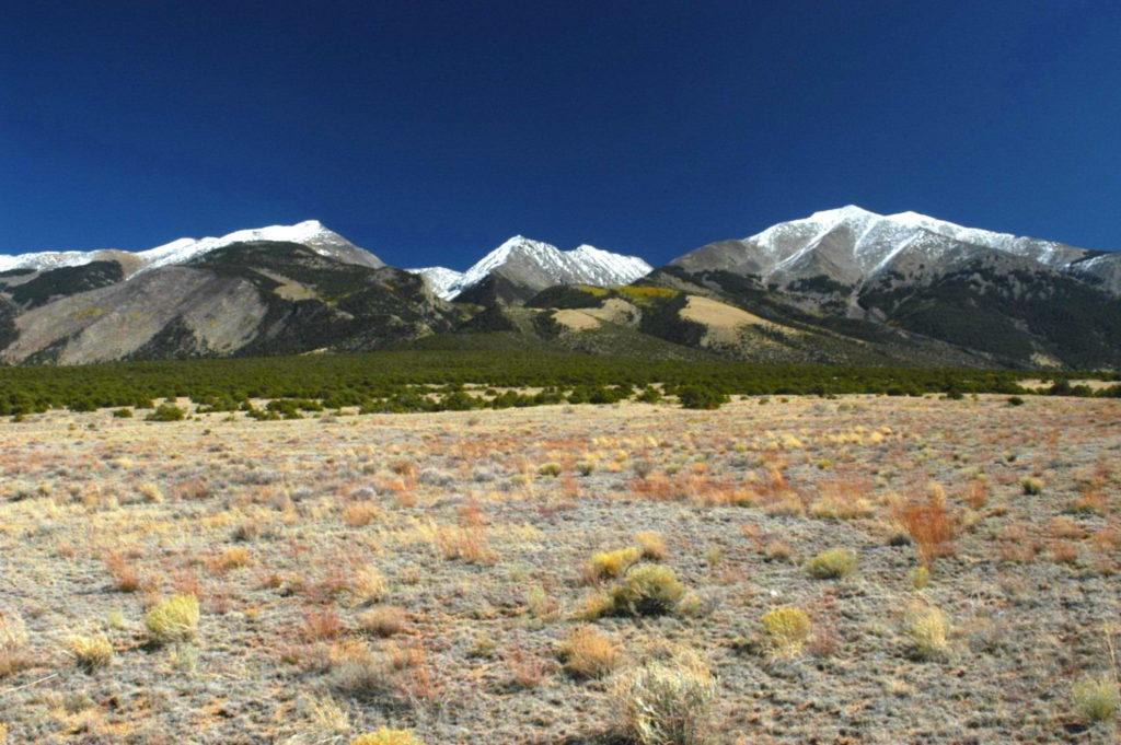Sangre de Cristo Mtn. Range, Colorado