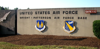 wright patterson afb sign