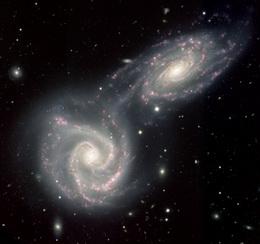 Milky Way & Andromeda Galaxies