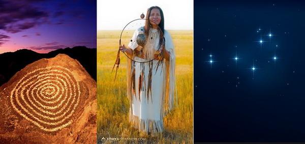 Rose Red Feather,Lakota,Dakota,Native American,Star People